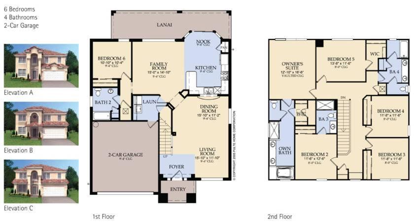 Windsor Hills Brentwood Floor Plan