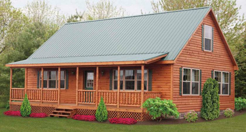 Wood Cabin Mobile Homes Ideas