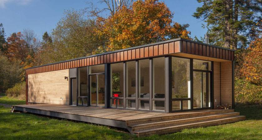 Woodsy Prefab Cabins Small Home