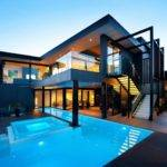 World Architecture Amazing Dream Home Black Blue Victoria