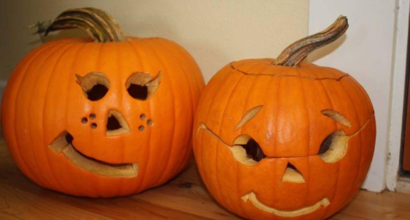 Year Before Halloween Her Gets Together Carve Pumpkins