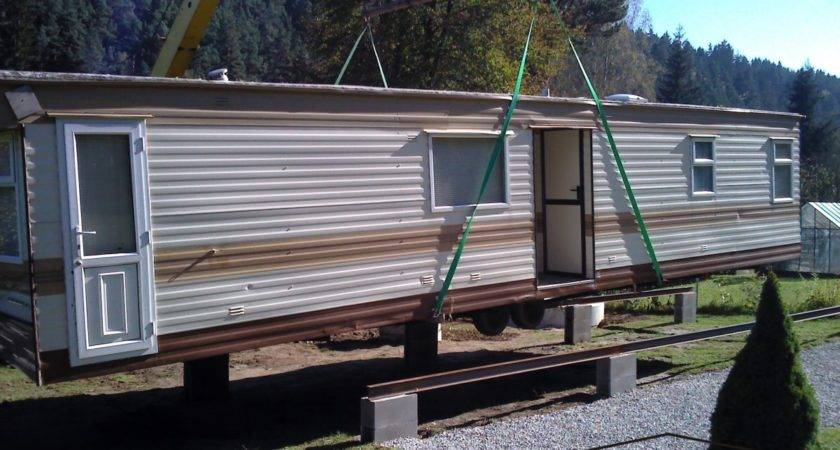 Year Round Mobile Home Wood Siding