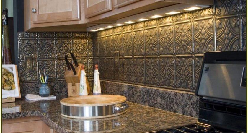 Your Home Improvements Refference Metal Subway Tile Backsplash