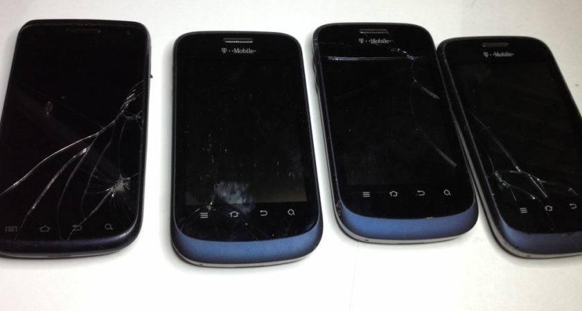 Zte Concord Gsm Mobile Tmobile Cracked Glass Digitizer